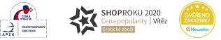 Apek - česká kvalita - certifikovaný obchod, Heuréka shop roku 2019, Heuréka ověřeno zákazníky