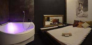 pokoj v masážním salonu