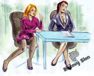 dvě ženy u stolu s vibračními vajíčky uvnitř
