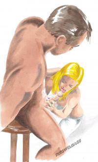orální sex žena muži