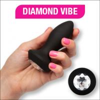 Anální kolík Diamond Vibe