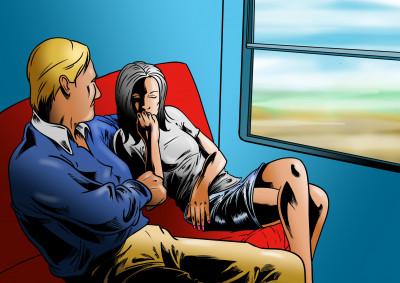 Sex ve vlaku