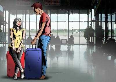 Setkání na letišti
