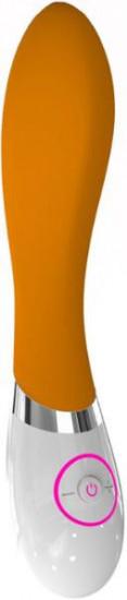 Vibrátor silikónový Oranžový banán 20cm