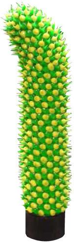Vibrátor kaktus meloun 20*3 cm