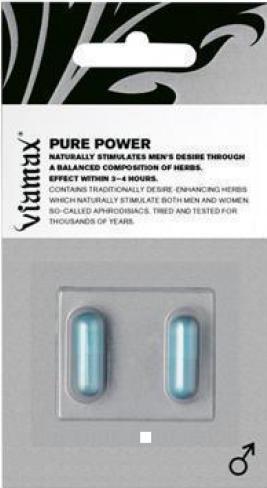 Viamax Pure Power 2 tbl pre mužov