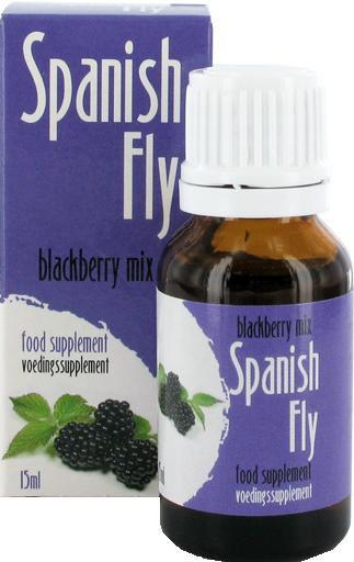 Španělské mušky 15ml - ostružina