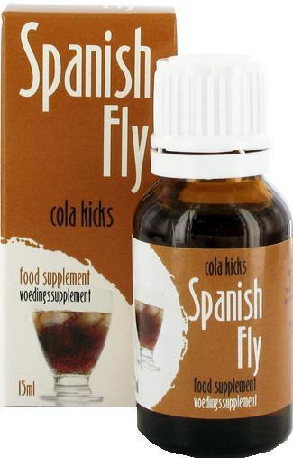 Španielské mušky 15ml - Cola