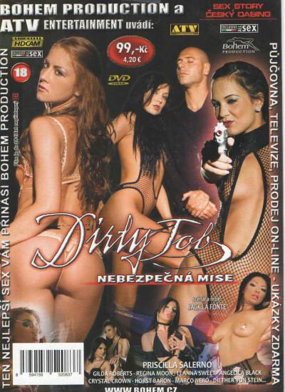 DVD Nebezpečná mise - obal.