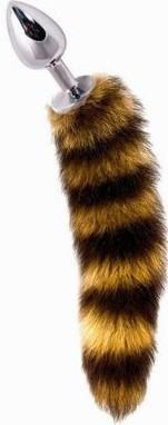 Anální kolík Racoon Tail