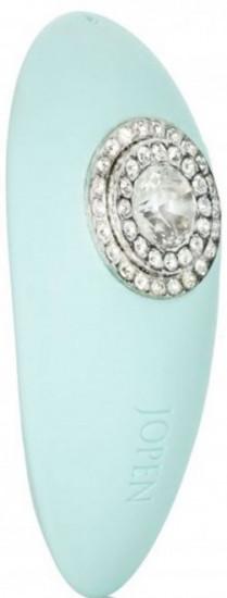 Masážní vibrátor Turquoise Diamond