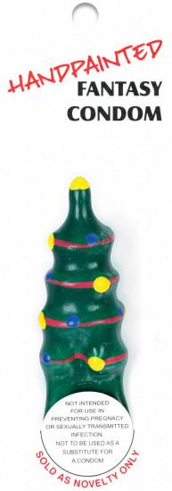 ERCO žertovný kondom CHRISTMAS TREE