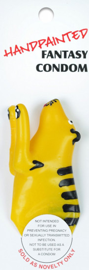 ERCO žartovný kondóm TIGER
