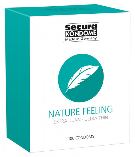 Secura Nature Feeling – ultratenké kondomy (100 ks)