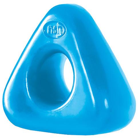 Erekčný krúžok Triangle Ring - svetlo modrá