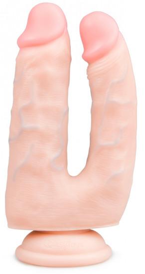 Realistické dildo Double Pleasure (18 cm)