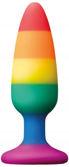 Análny kolík s prísavkou Rainbow Euphoria