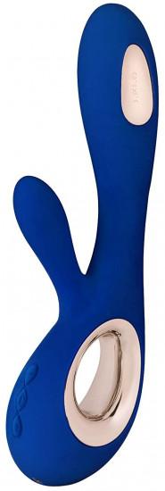 LELO Soraya Wave vibrátor s výběžkem, modrý