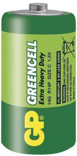 Batérie GP GreenCell R14 typ C