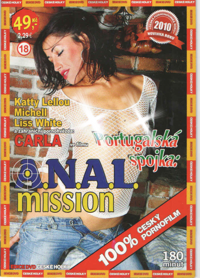 DVD Portugalská spojka: Anal mission - obal