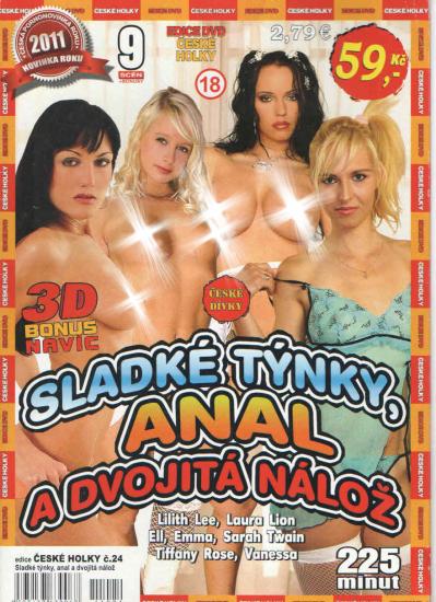 DVD Sladké týnky, anál a dvojitá nálož - obal