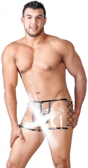 Pánské průsvitné PVC boxerky