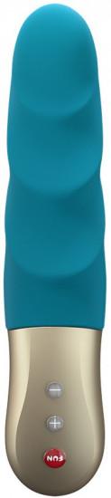 Fun Factory Stronic Petite handsfree pulzátor, modrozelený