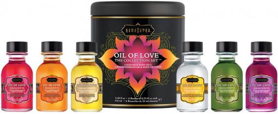 KamaSutra sada slíbatelných olejů – Warm Kisses Of Love