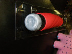 Vibrátor Joystick 18 cm silikon - červený