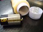 Vibrátor umělá kůže CYBERSKIN 19*4 cm