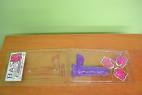 Dildo s přísavkou fialové 17cm