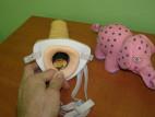 Pripínací penis pre mužov dutý