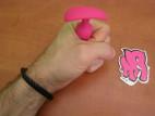 Anální kolík Mini 5cm, silikon