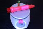 Vibrátor gélový análny 17 * 2.5 cm