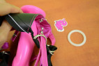 Strap-on Pink Silicone