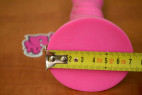 Strap-on Pink Silicone rozměry