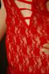 Minišaty Darling červené