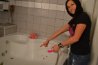 Vibrátor H2O Drop Pink stříká vodu