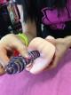 Dominika a skleněné dildo Twister love