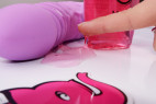 Malina, lubrikačný gél - ukazujeme, ako je elastický