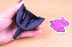 Anální kolík s přísavkou Gaper