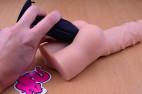 Anální kolík Gaper – s Análním gelem a se zadečkem