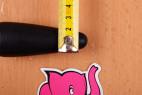 Dvojité dildo Ass Jacker (18 cm) - priemer v najužšej časti kolíka