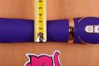 Vibrátor Front Row Purple – priemer najužšej časti