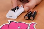 Joymatic Touch Vibe, dotykový vibrátor - vkladanie batérií