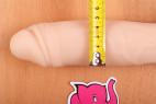 BOOM silikónové dildo Robert Rosenberg - priemer v najširšej časti