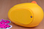 Vibračná kačička Duckie - detail krytu batérie