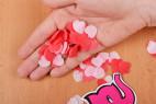 Mýdlové konfety Little Hearts – v dlani
