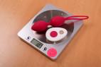 Vibrační Venušiny kuličky na dálkové ovládání Love Balls, váha s ovladačem 107 g