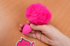 Análny kolík Pinky Bunny - v ruke